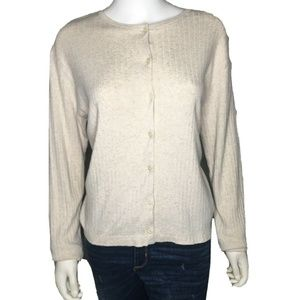 Lauren Ralph Lauren Womens Cardigan Sweater sz PM